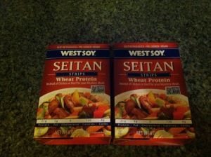 Seitan instead of steak